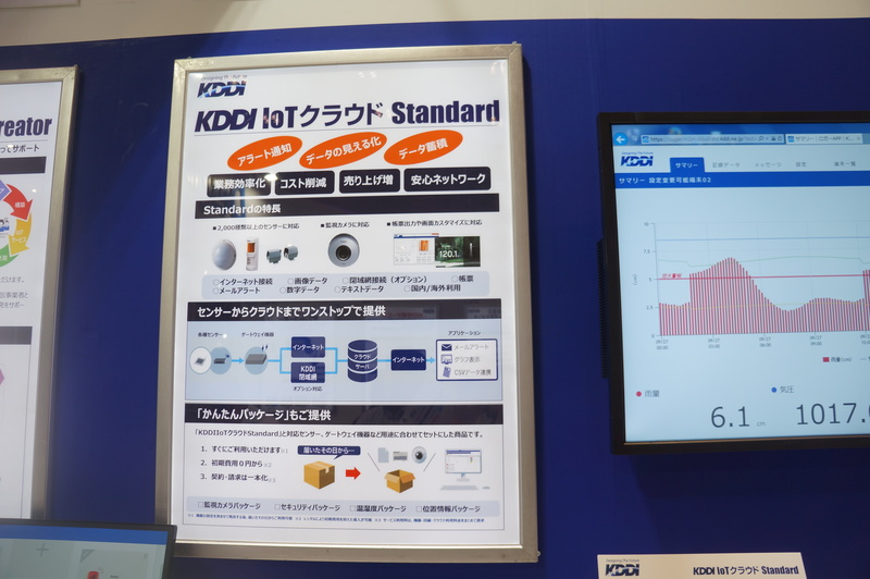 「KDDI IoTクラウド Standard」の説明