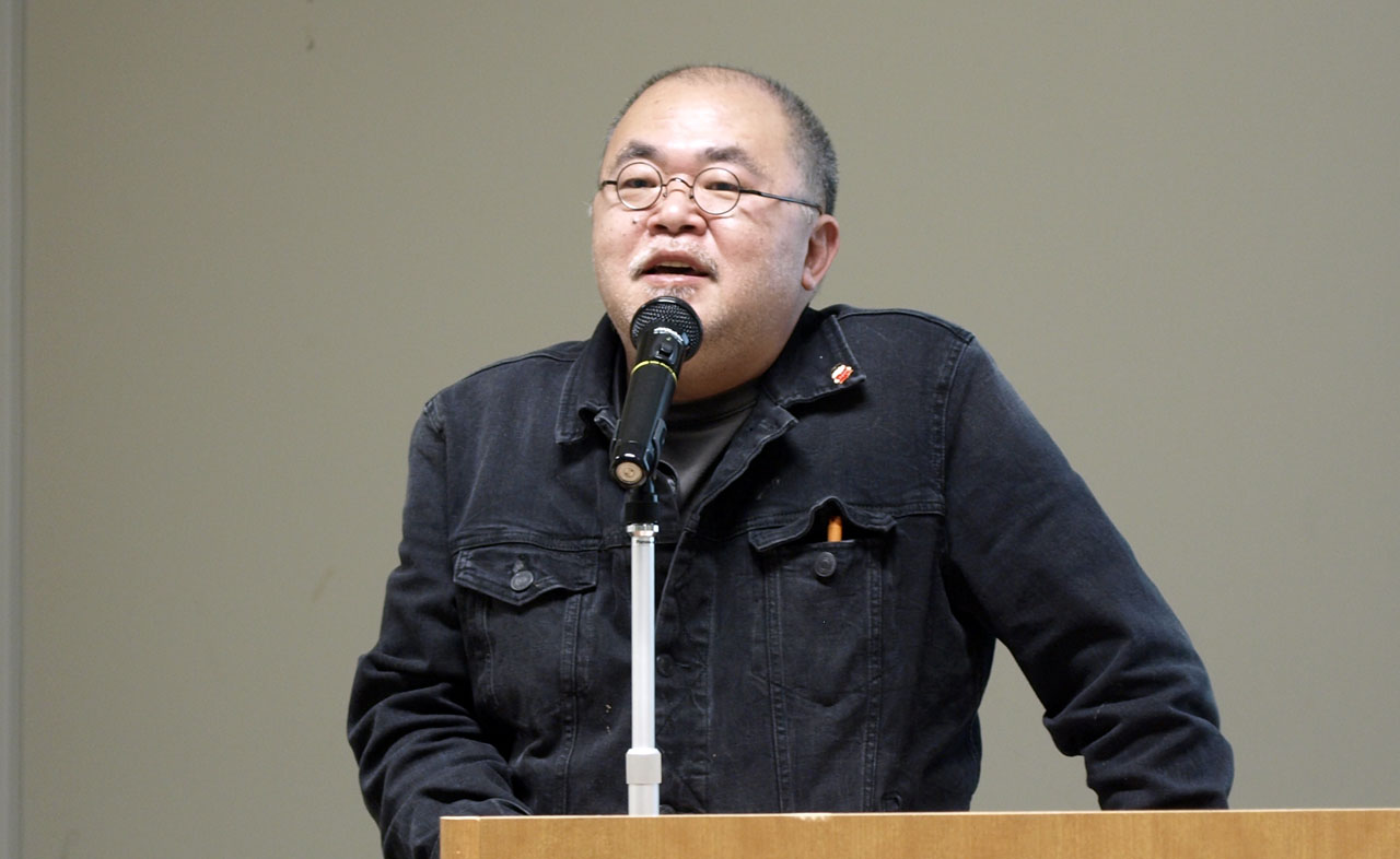 ポット出版(株式会社スタジオ・ポット)代表取締役社長の沢辺均氏