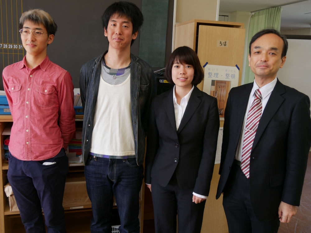 千葉大学教育学部副学部長/教授の藤川大祐氏(向かっていちばん右)