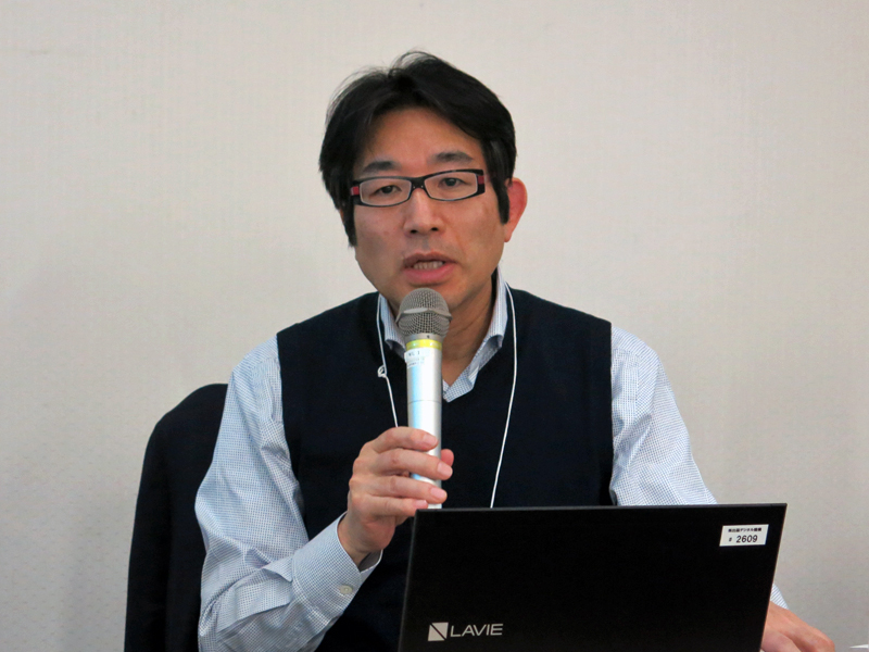 株式会社出版デジタル機構代表取締役社長の新名新氏