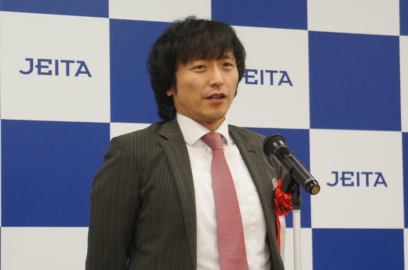 株式会社FLOSFIA 代表取締役社長 人羅俊実氏
