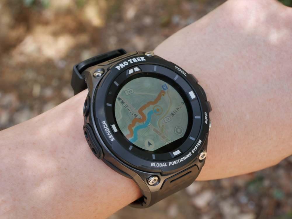 カシオのアウトドアGPSウォッチ「PRO TREK Smart WSD-F20」