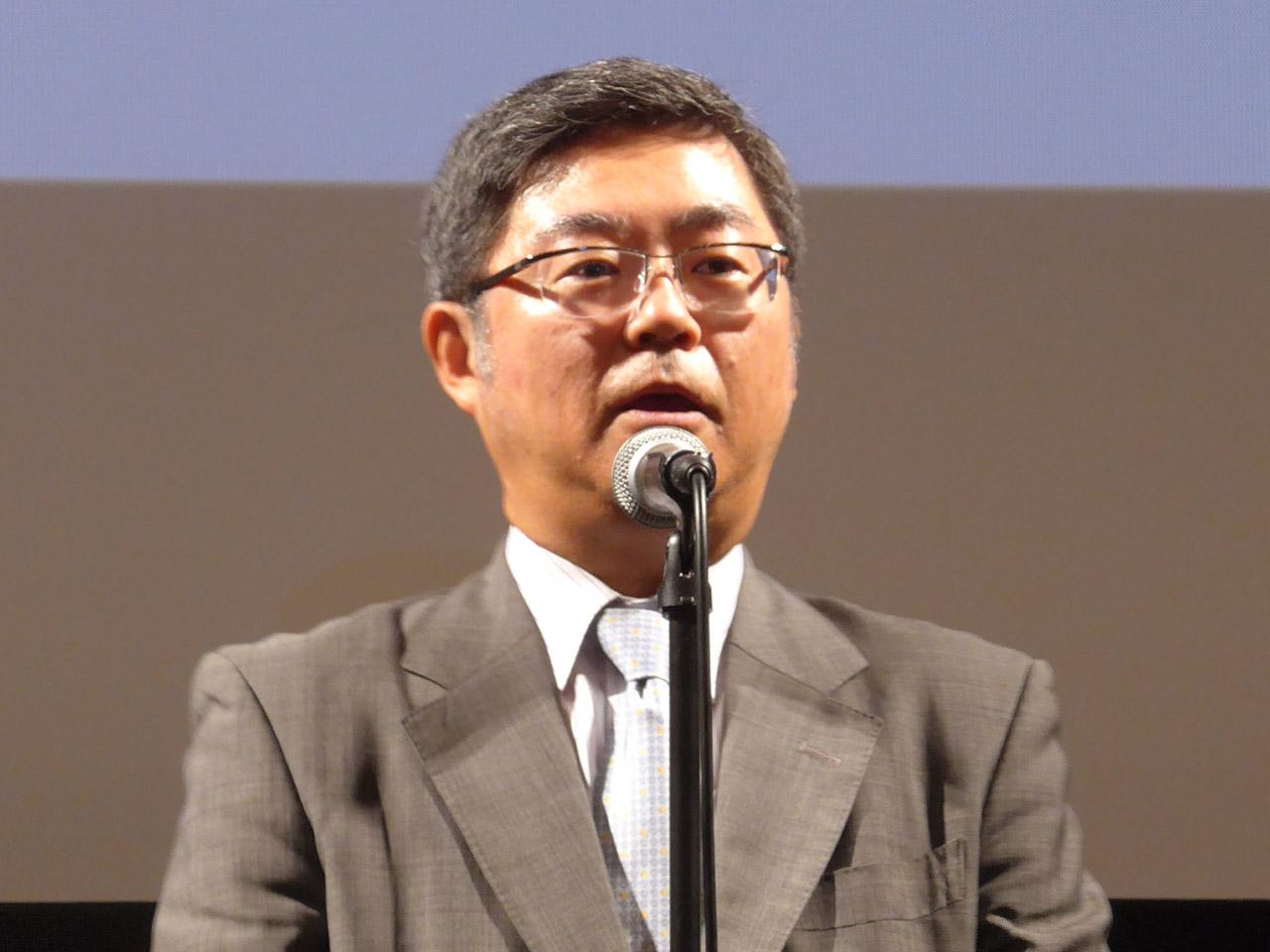 株式会社モリサワ代表取締役社長の森澤彰彦氏