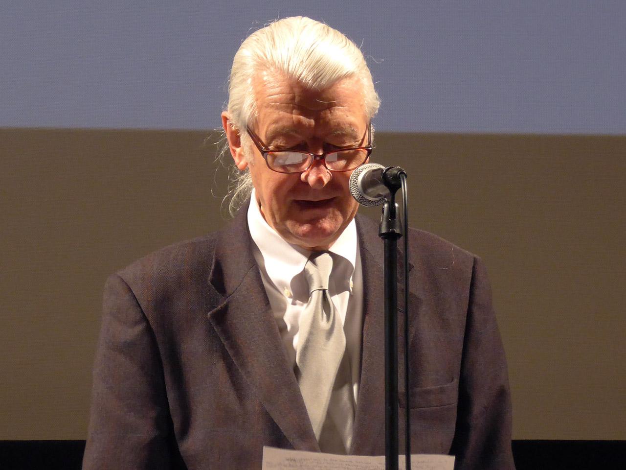 「タイプデザインコンペティション2016」の審査員長を務めたマシュー・カーター氏