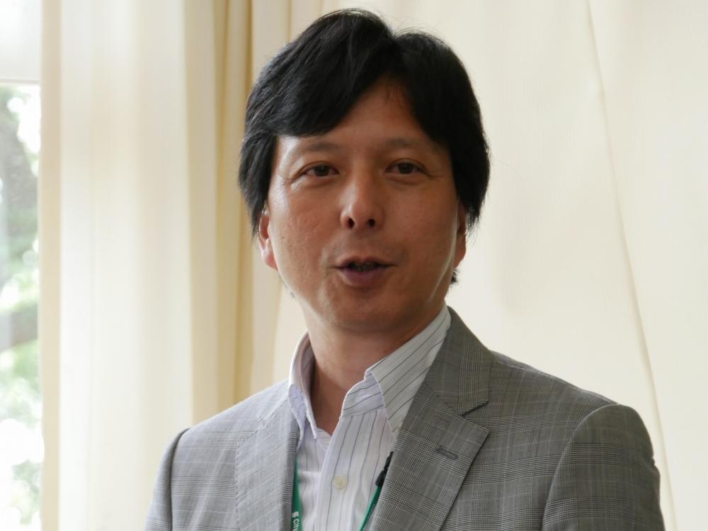 柏市教育委員会学校教育部学校教育課の佐和伸明氏