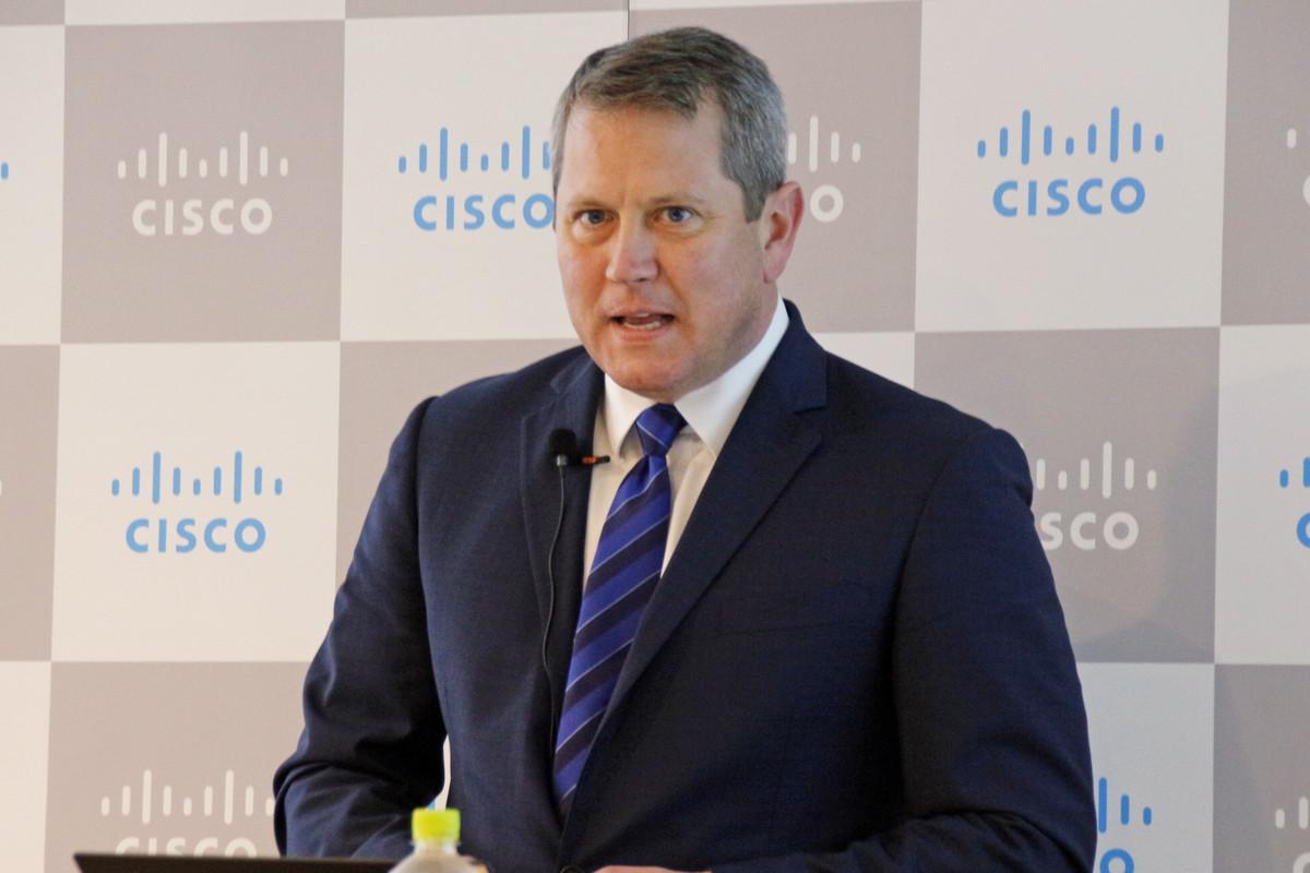 米Cisco Systemsのダグ・ウェブスター氏(戦略、テクノロジーおよびイノベーション担当バイスプレジデント)