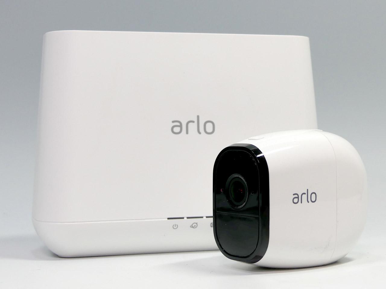 完全ワイヤレスを実現した世界初のネットワークカメラ「Arlo」の上位モデル「Arlo Pro」