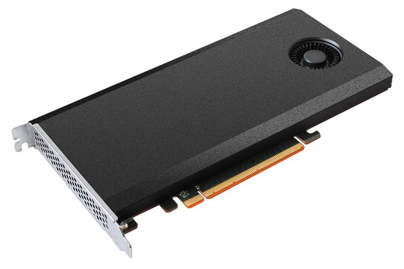 4基のNVMe対応M.2スロットを搭載する米HighPoint TechnologiesのSSD RAIDカード「SSD7101A-1」