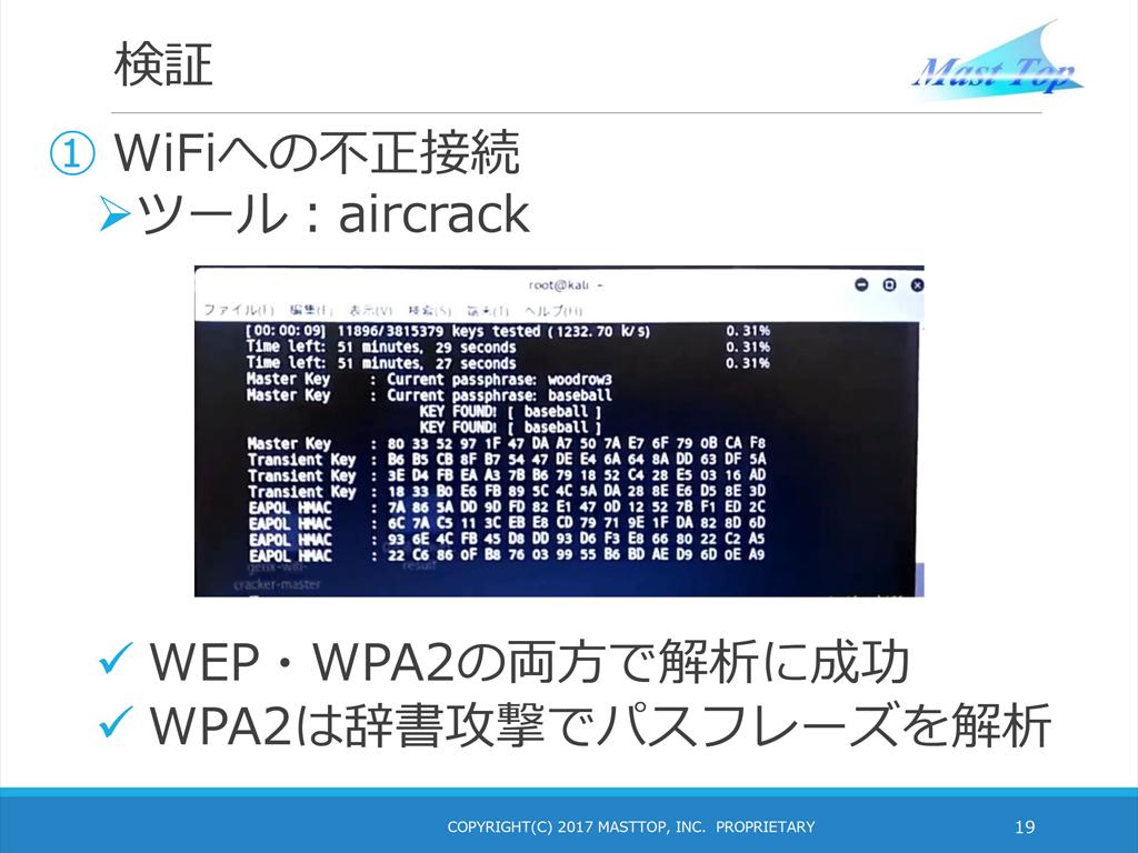 「Aircrack-ng」などのツールを使えば、無線LANの解析が可能