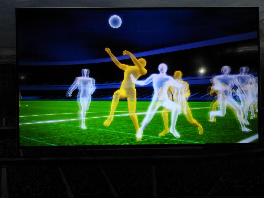 撮影後、画像処理技術で3D空間データを構築する
