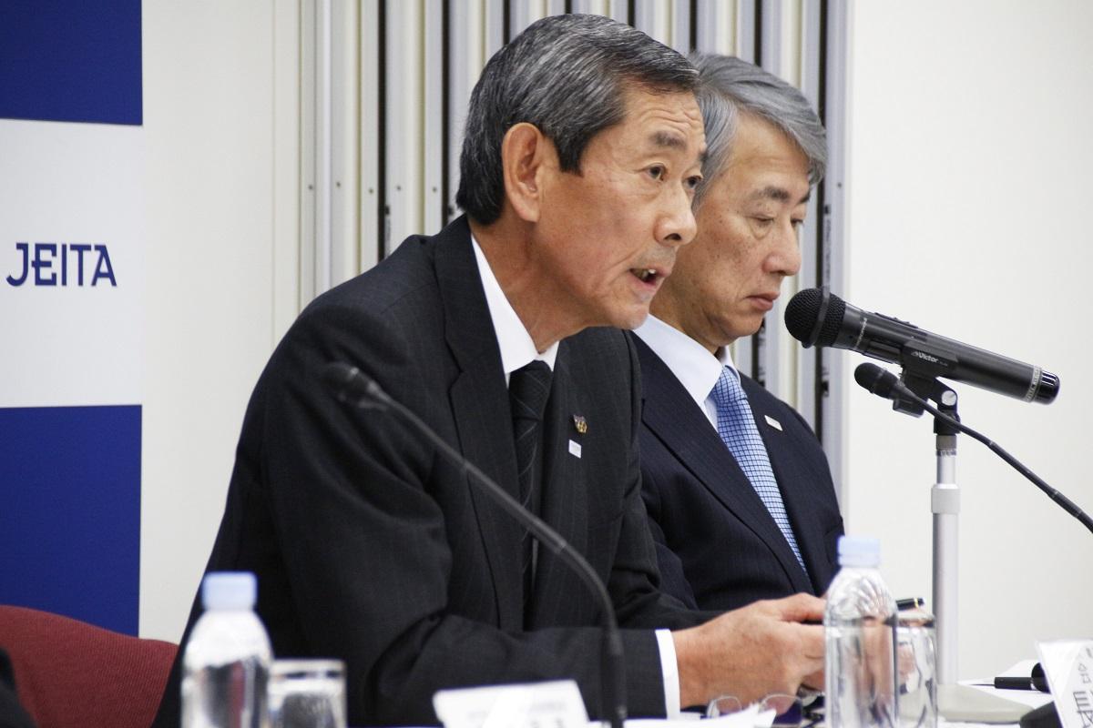 JEITA会長の長榮周作氏