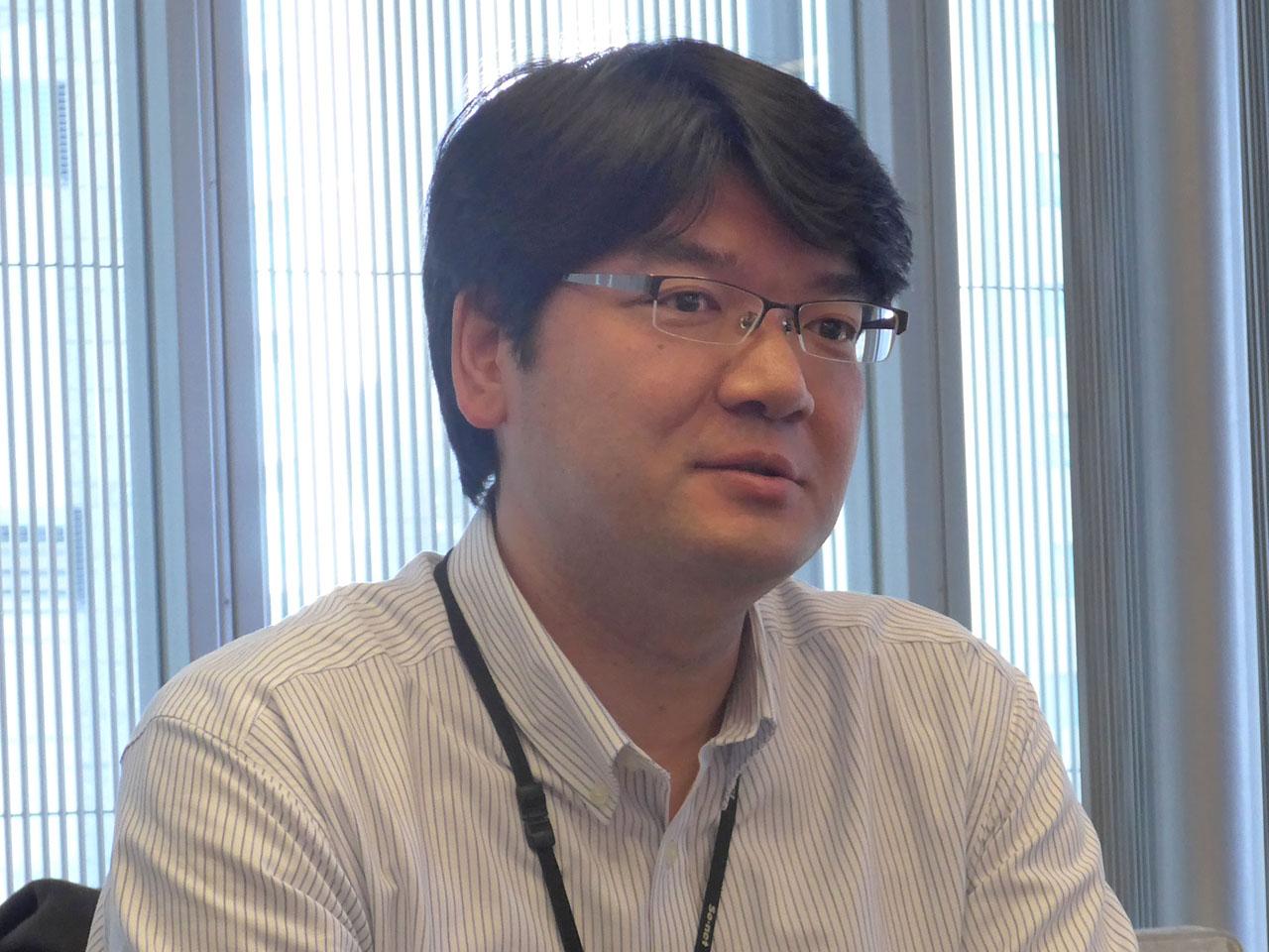 ソニーネットワークコミュニケーションズ株式会社の山口琢也氏(ネットワーク基盤事業部門ネットワーク部ネットワーク運用課課長)