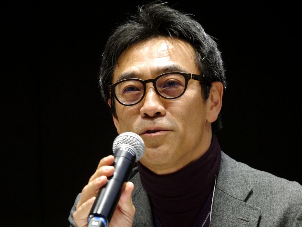 ソラミツ取締役会長の松田一敬氏