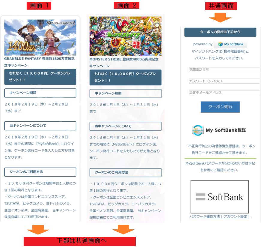 偽サイトの画面(フィッシング対策協議会の注意喚起情報より画像転載)