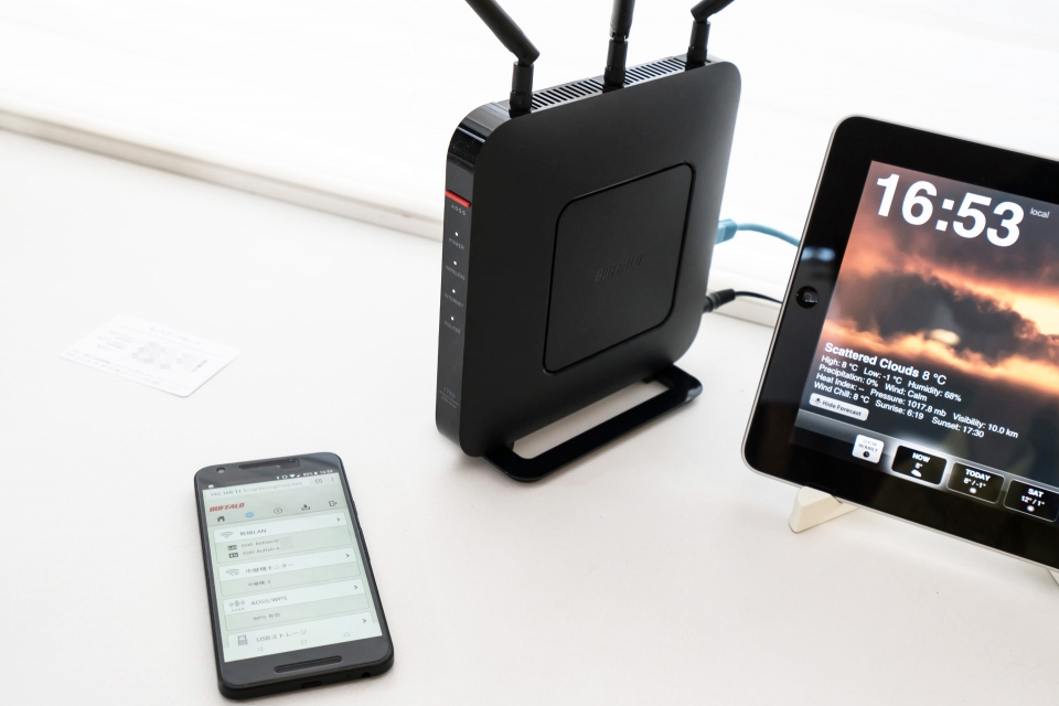 Wi-Fiルーターに繋げたら、インターネットに繋がっているかチェックする