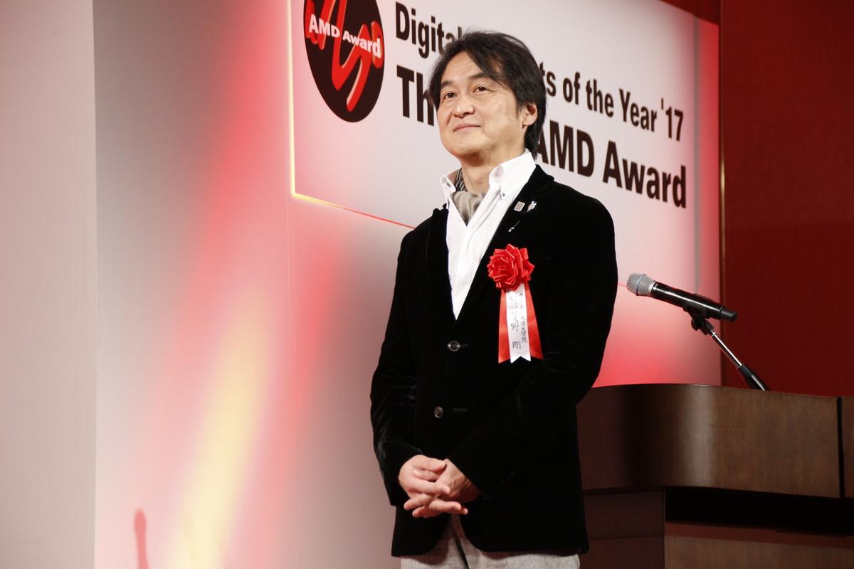 AMDアワード審査員長の夏野剛氏