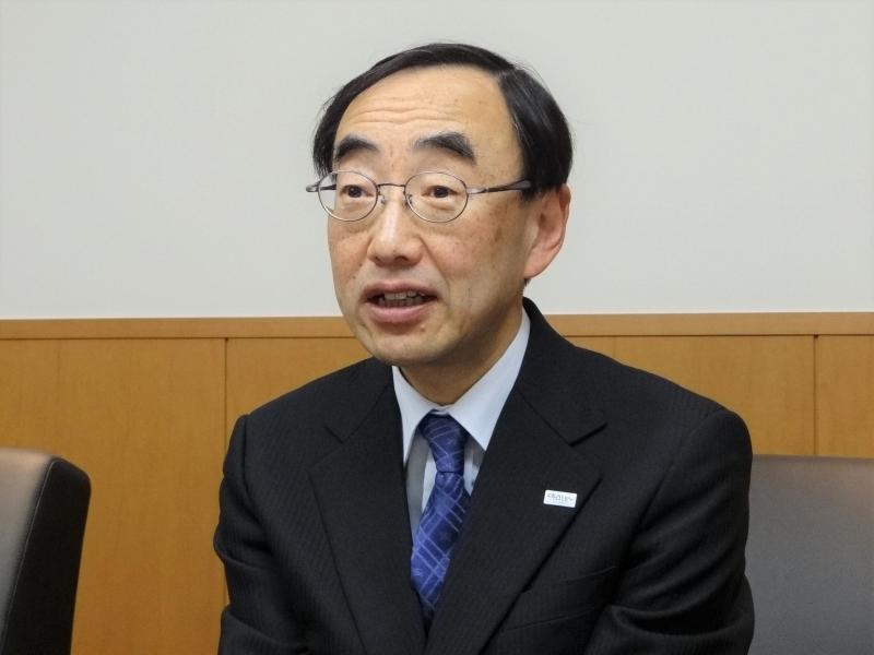 一般社団法人電子情報技術産業協会(JEITA)常務理事の川上景一氏。JEITAベンチャー賞は、氏が尽力して創設されたもの。