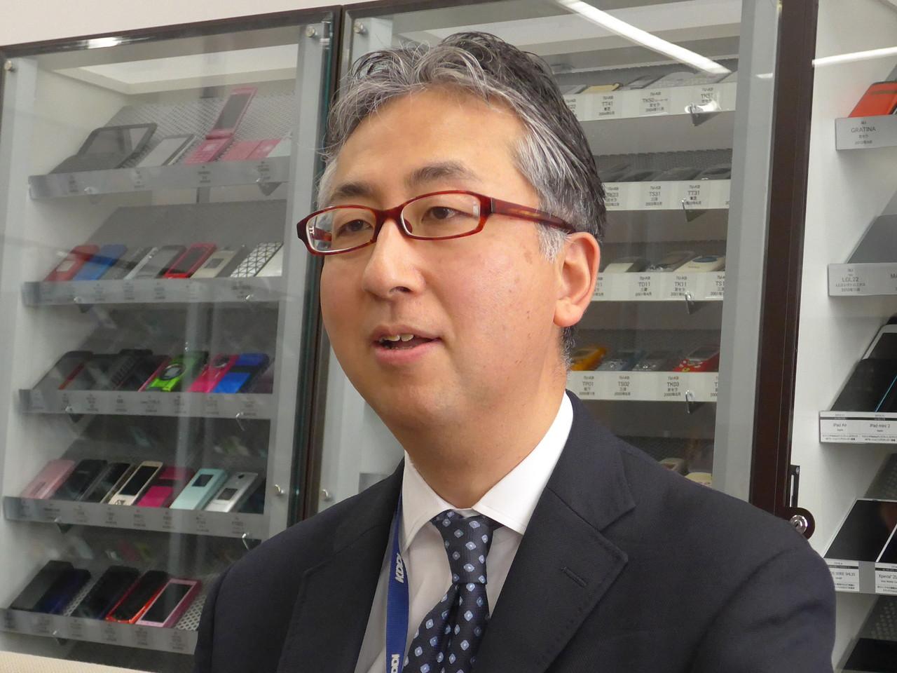 KDDI株式会社商品企画本部ホーム・IoTサービス企画部ブロードバンドプラットフォームグループリーダーの小松俊介氏