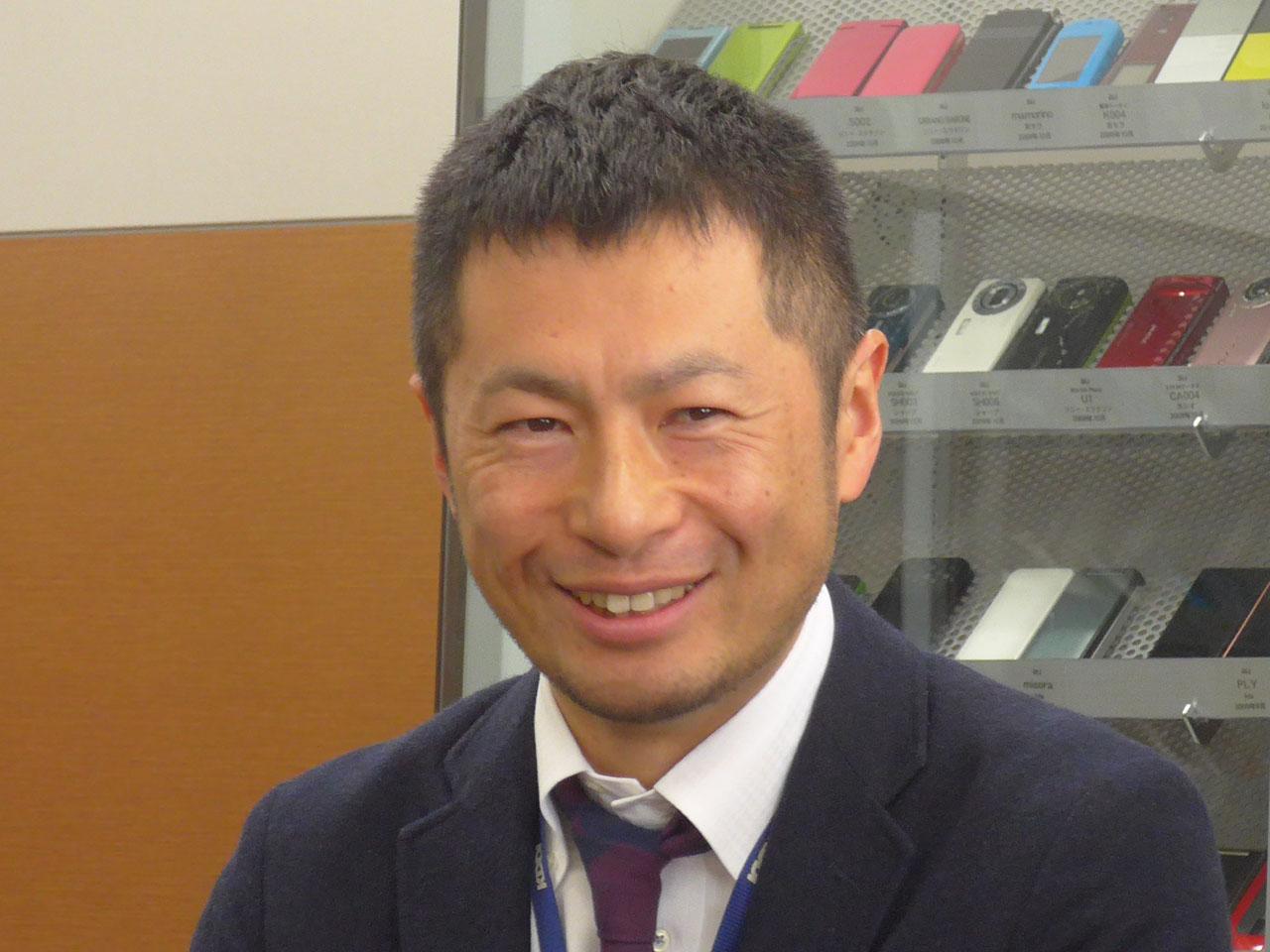 KDDI株式会社ネットワーク技術本部ネットワークマネジメント部ネットワーク計画1グループ課長補佐の川島倫央氏