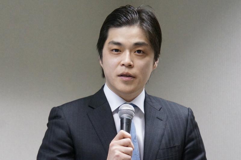 司会の中川譲氏(MIAU)