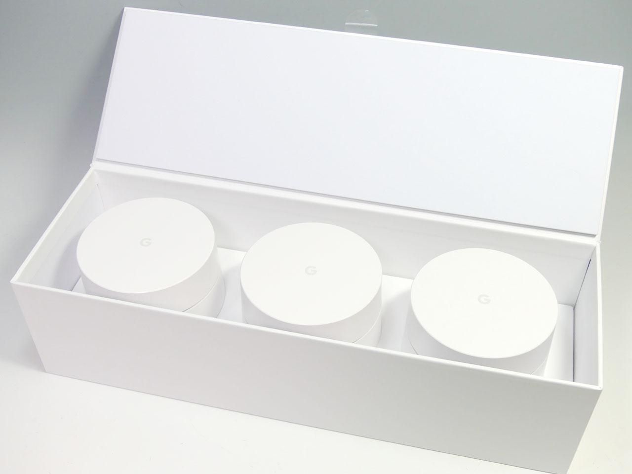 Googleが日本市場へ投入したGoogle Wifi。今回テストしたのは3台セットのモデル