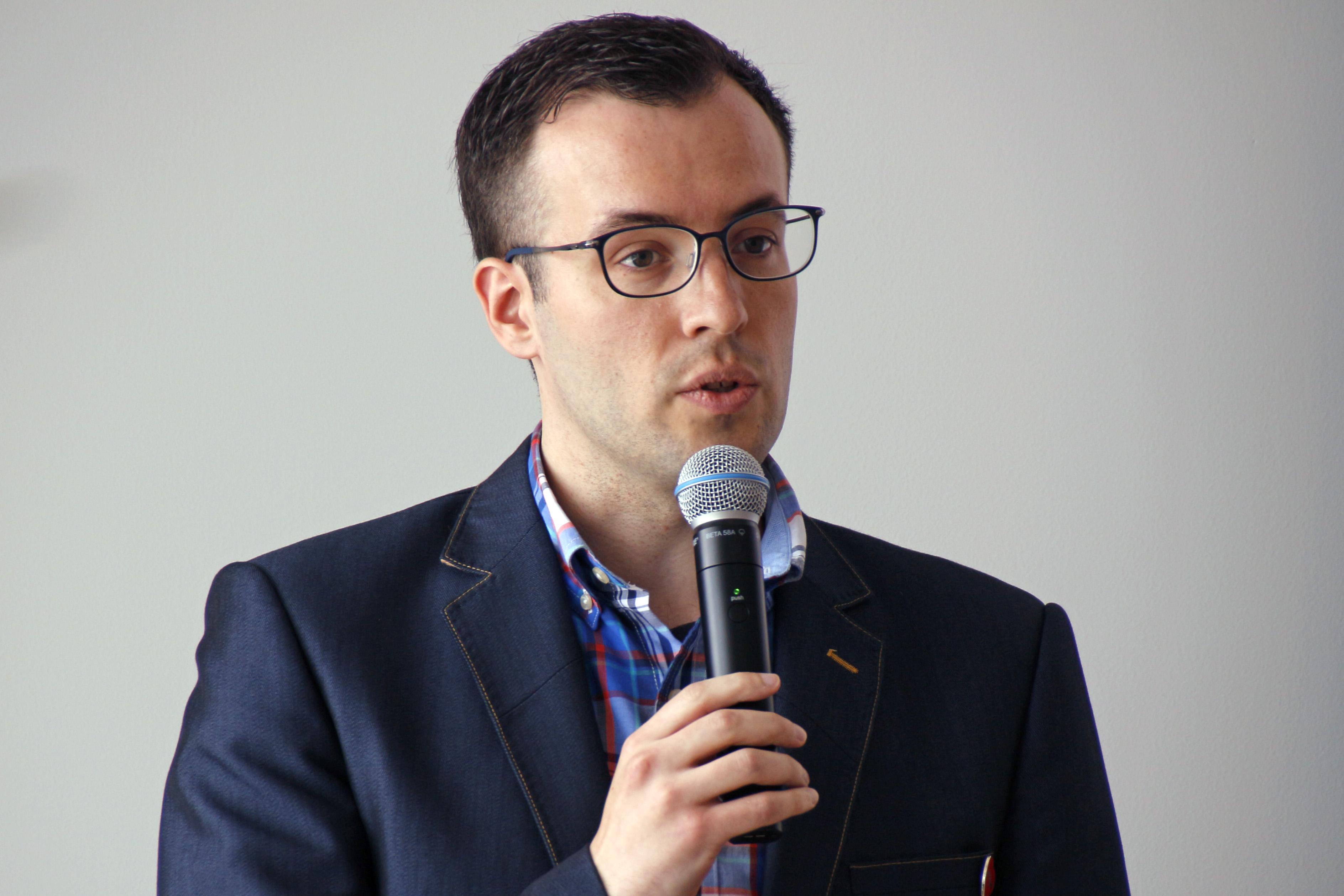 ストライプジャパン株式会社代表取締役のダニエル・へフェルナン氏