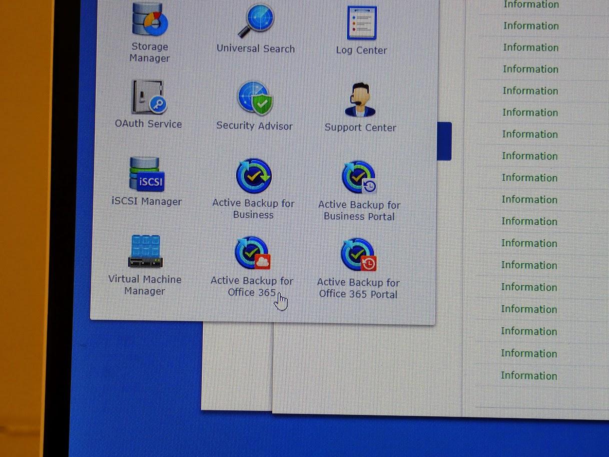 Office 365のデータをバックアップするための「Active Backup for Office 365」も登場予定だ