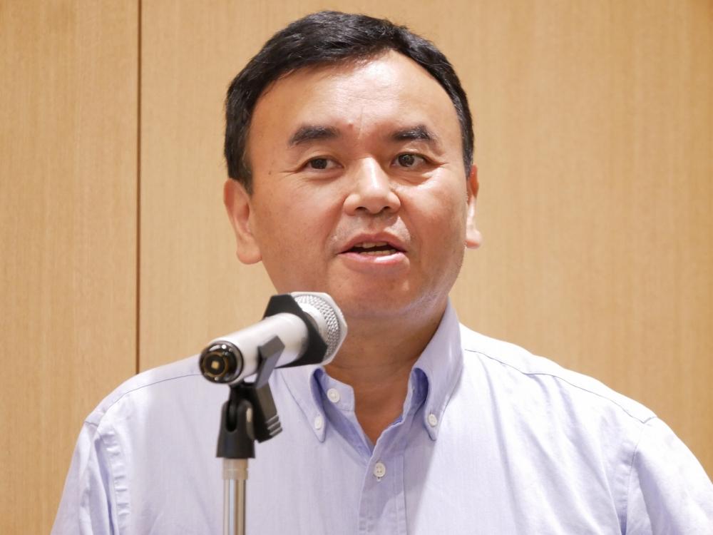 Yext代表取締役会長兼CEOの宇陀栄次氏