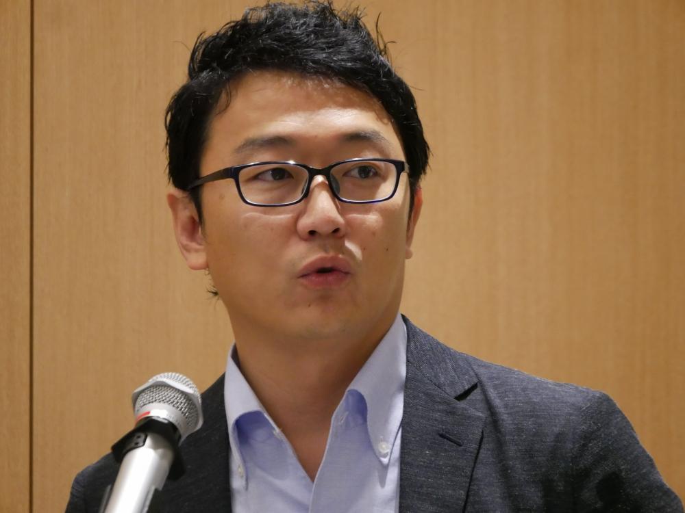Yext執行役員営業統括本部長の網本信幸氏