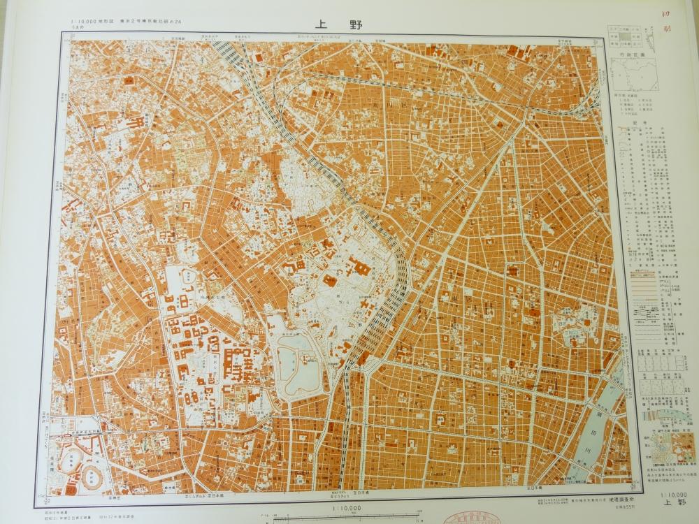 1960年代の地図