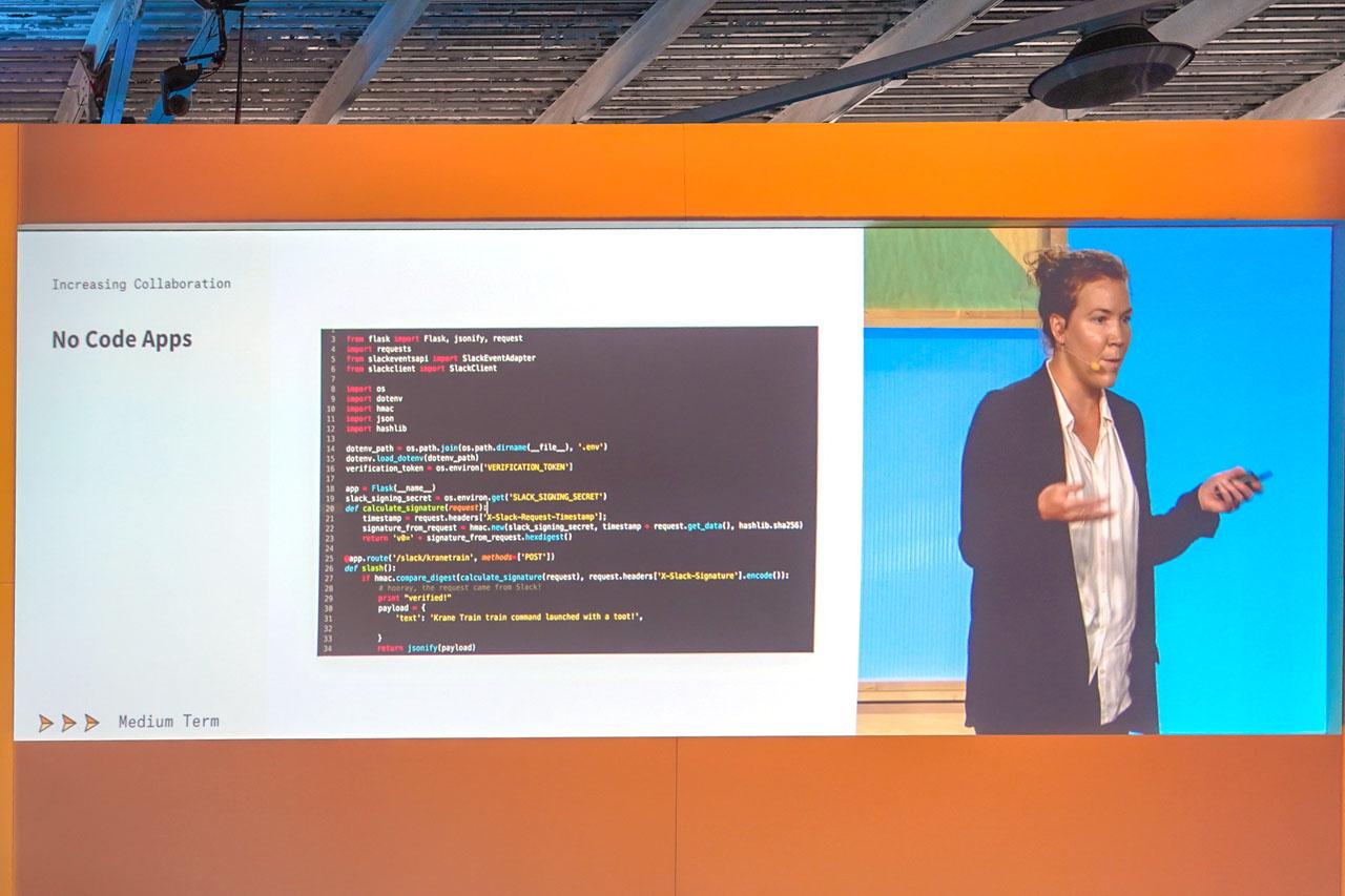 プログラムコードを書かなくてもアプリケーションの接続が可能になる仕組みが導入される