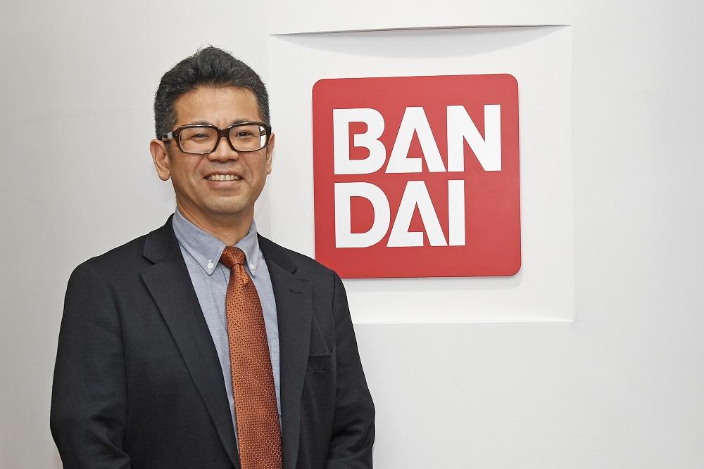 株式会社バンダイ新規事業室デピュティゼネラルマネージャーの原田真史氏