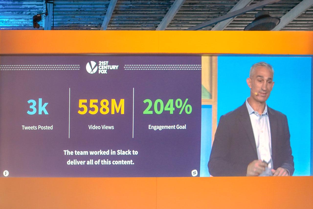 Slackを導入した成果、エンゲージ率の目標を200%上回った