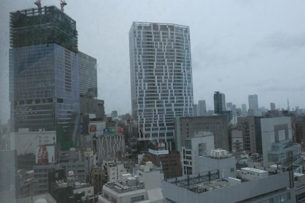 再開発が進む渋谷駅周辺。2年後には、IT企業が集結する都市として生まれ変わる