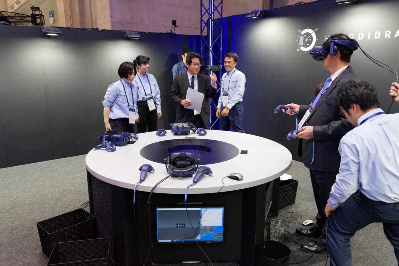 VRで現場を再現できる「HOLO DIORAMA」
