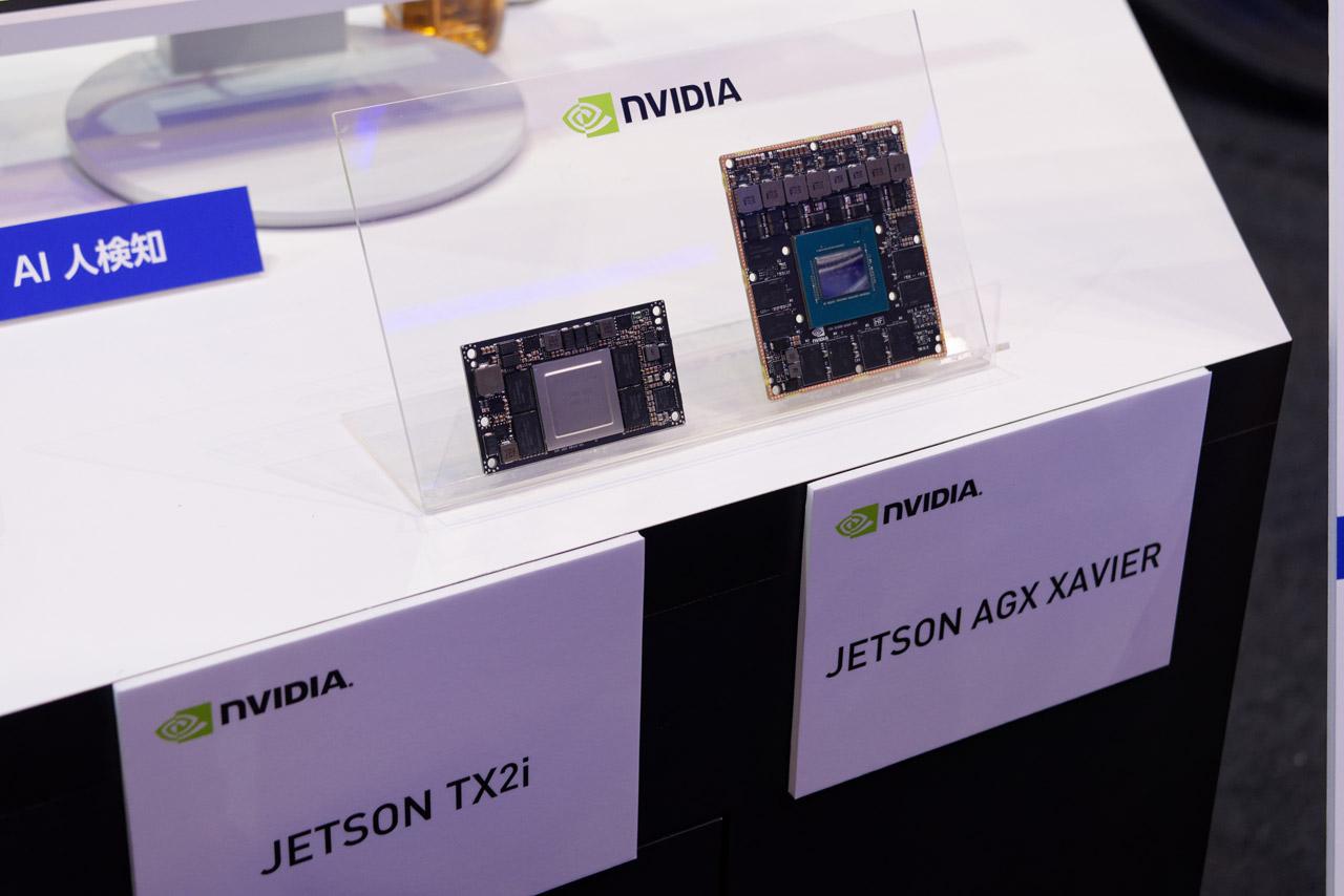 自動運転油圧ショベルにはNVIDIAの自動運転向け車載モジュール「JETSON TX2i」が搭載
