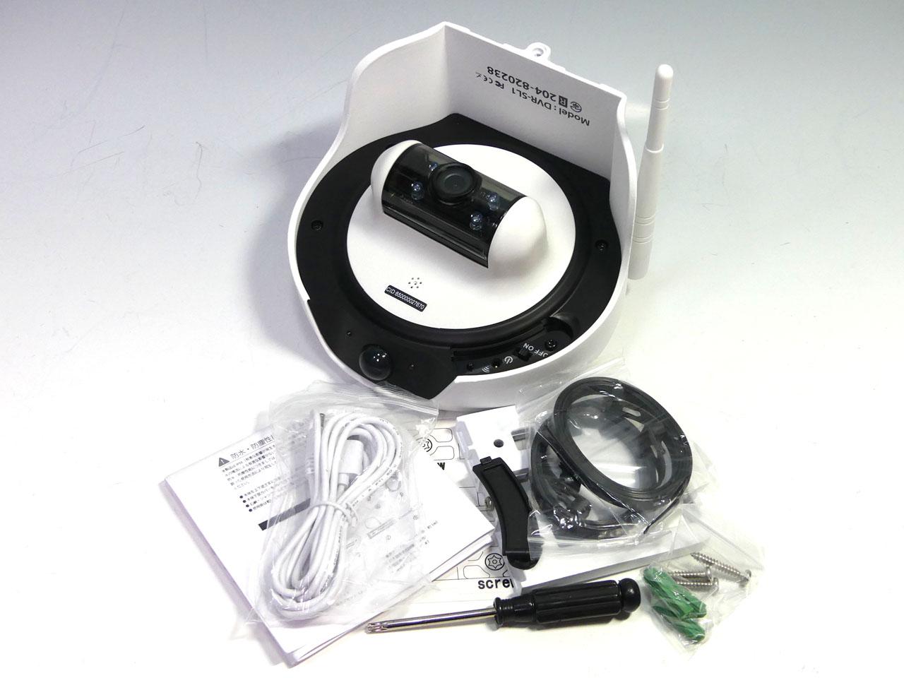 ハンファQセルズジャパンの太陽光充電対応Wi-Fiネットワークカメラ「DVR-SL1」