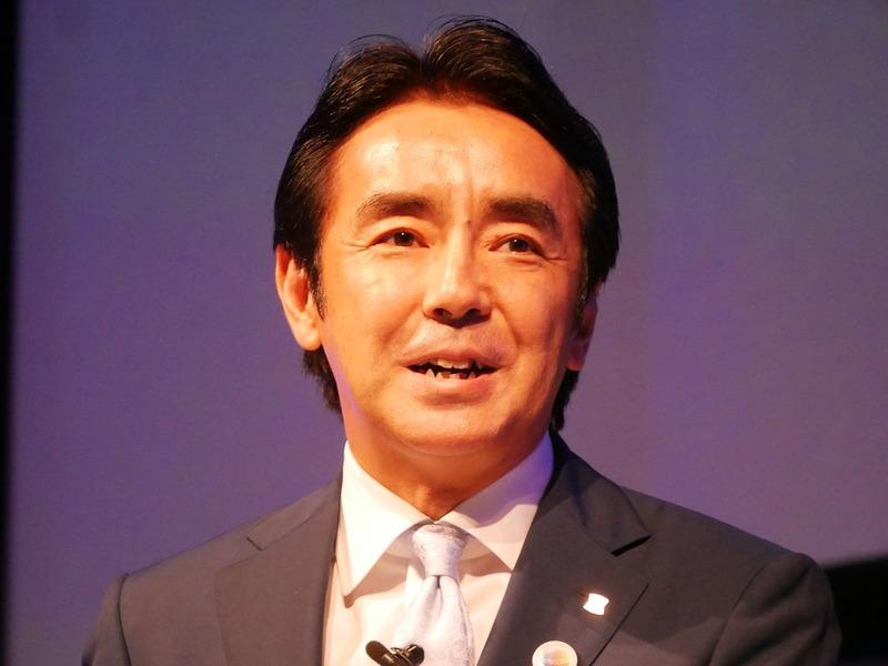 午後2時からはローソンの竹増貞信社長が基調講演