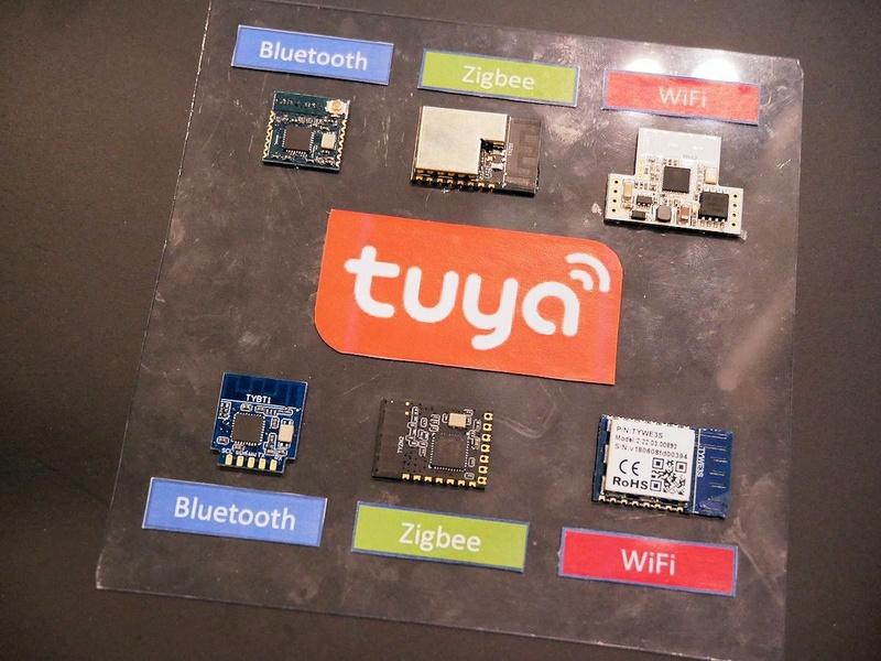 この日も記者会見がいくつか行われた。午前10時からは中国Tuya Globalとソフトバンクコマース&サービス、プラススタイルがIoTに関する会見を行った
