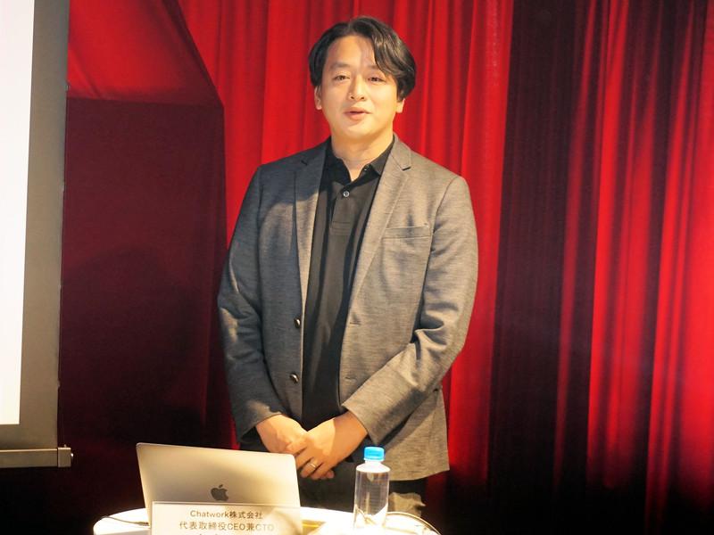 代表取締役CEO兼CTOの山本正喜氏