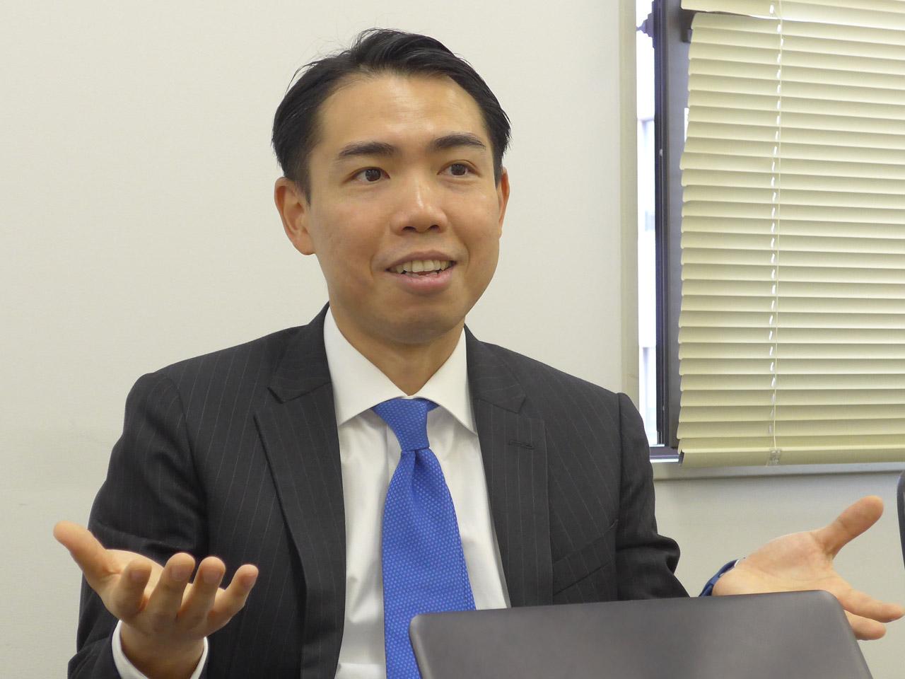 ASUSTeK APAC Product Mgt Product DirectorのRichard Chen氏