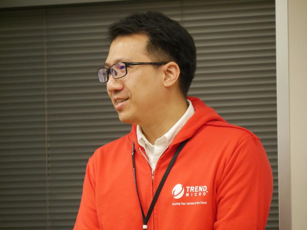 トレンドマイクロ株式会社ジェネラルビジネスSE部の星野貴章氏