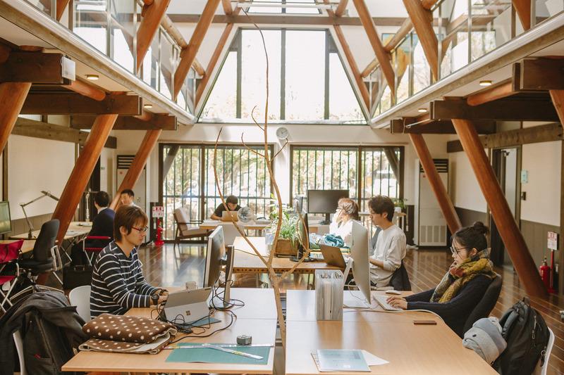 「おためしナガノ2019」で提供予定のコワーキングスペース「富士見 森のオフィス」(富士見町)