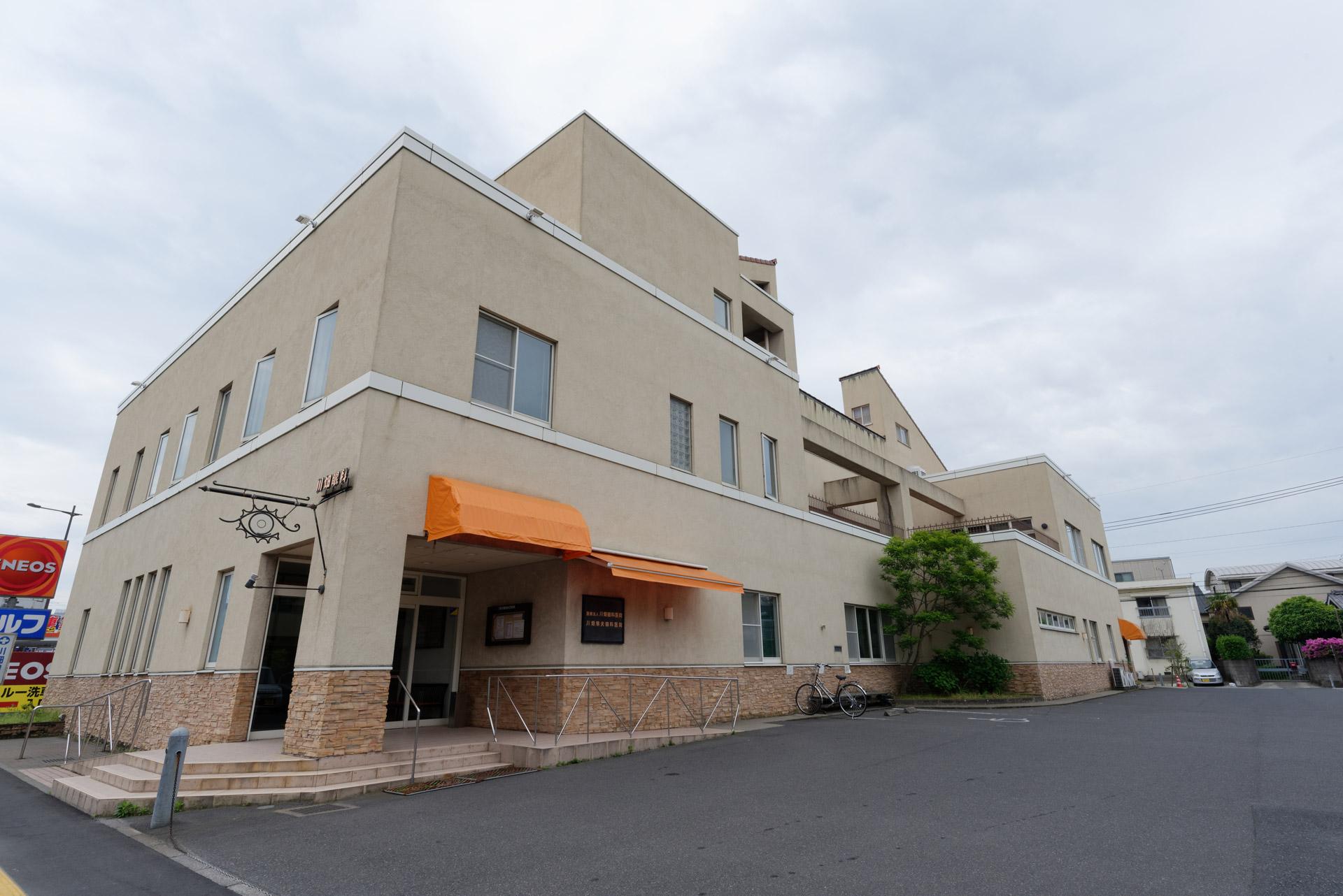 単科病院としてはかなり規模の大きい川畑眼科医院