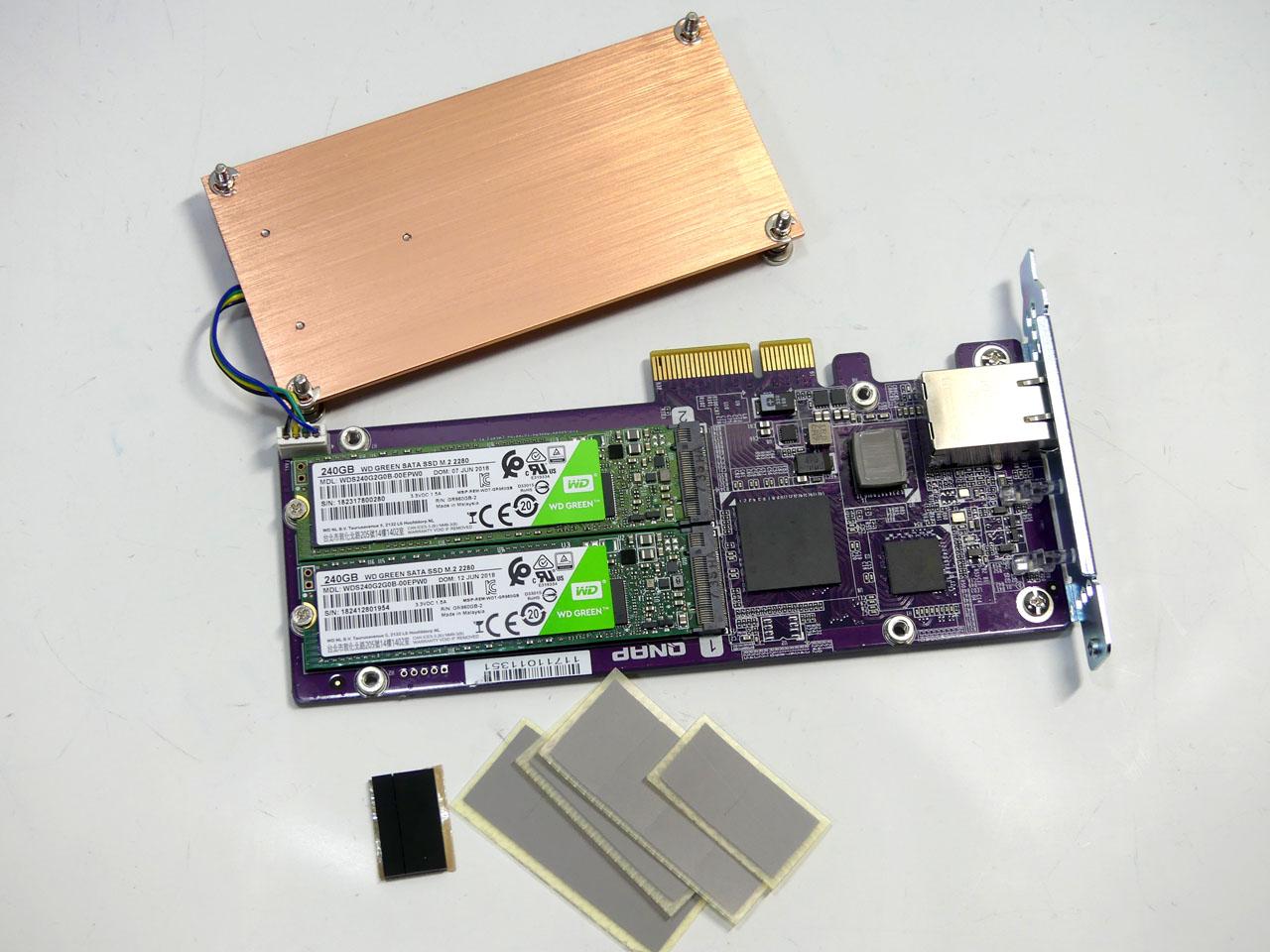 SSDキャッシュや10GBASE-Tにも対応できる