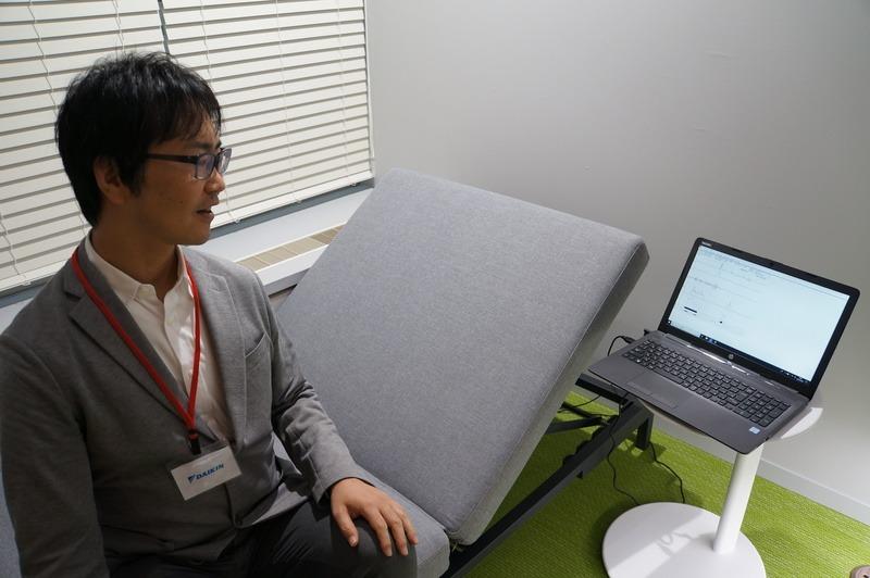 ダイキンによる仮眠室の実験