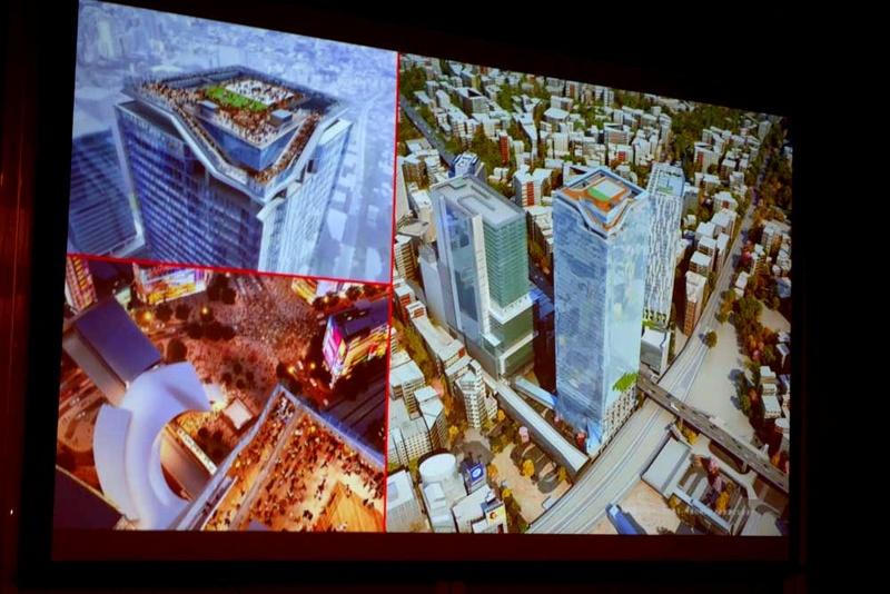 スクランブルスクエア最上階と屋上に作られる展望施設SHIBUYA SKY
