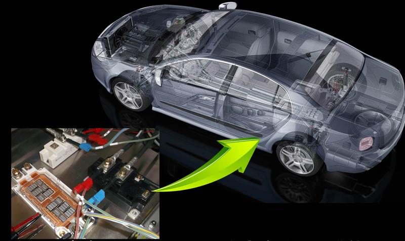 電気自動車では重要な構成パーツとなる