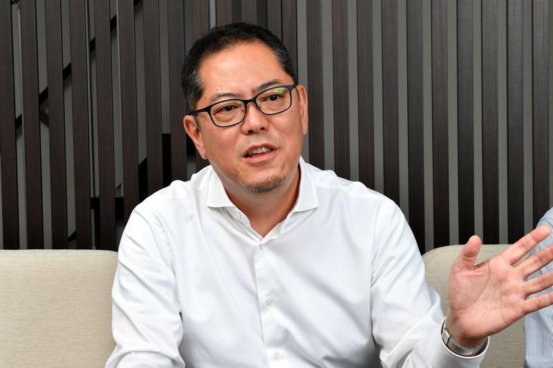 株式会社NITTO CERA代表取締役社長の浅野 靖司氏