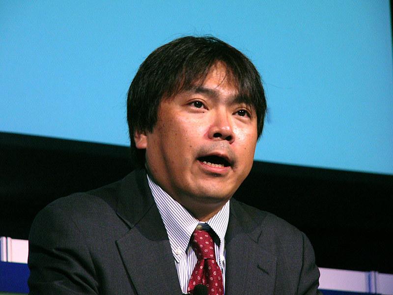 山口英氏(2005年5月、NISCの情報セキュリティ補佐官時代に行われた「RSA Conference 2005 Japan」基調講演で)